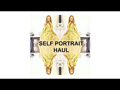 Self Portrait Spring Haul 2018 from Selfridges Really Chatty Try On Clothing Haul Vlog