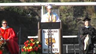 Hilarious Valedictorian Speech - Class of 2014 (El Camino High School)