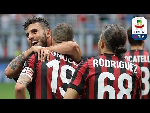Il gol di Cutrone (41') - Milan - Fiorentina 5-1 - Giornata 38 - Serie A TIM 2017/18