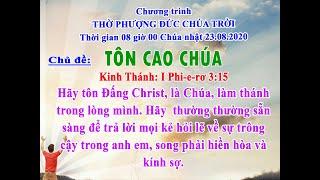 HTTL VIỆT AN - Chương trình thờ phượng Chúa - 23/08/2020