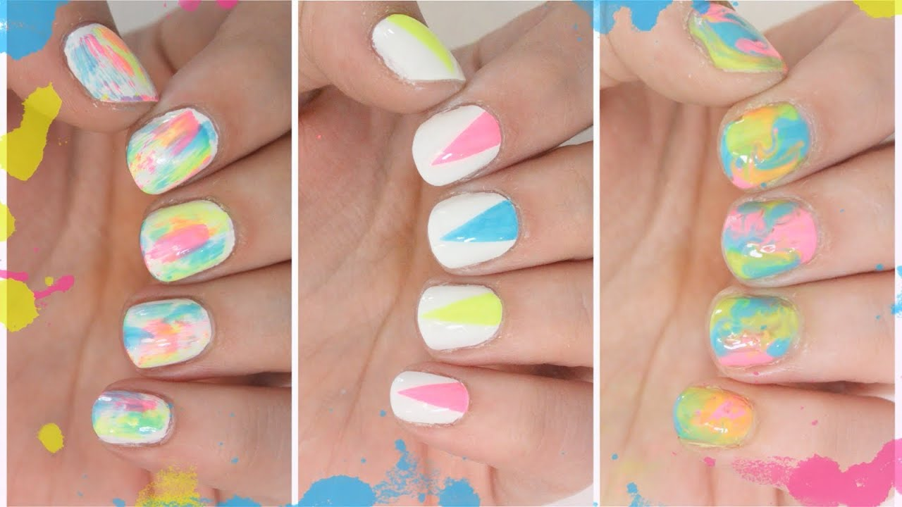 Easy Summer Nail Art Yolarnetonic