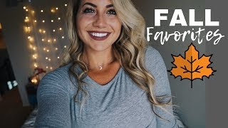 FALL FAVORITES: Food | FItness | Beauty