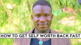 How to RECOGNIZE Your Self WORTH
