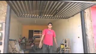 Jaidam Serralharia portão basculante sem motor