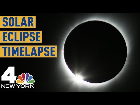 Total Solar Eclipse 2019 Timelapse: See The Entire Thing in 4 Minutes | NBC New York