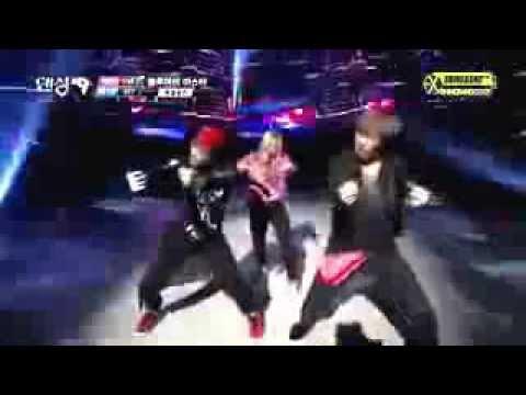 130929 Dancing 9 EXO Kai and Lay with SNSD Hyoyeon Dance ...
