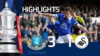 Everton vs Swansea City 3-1, FA Cup 5th Round goals & highlights
