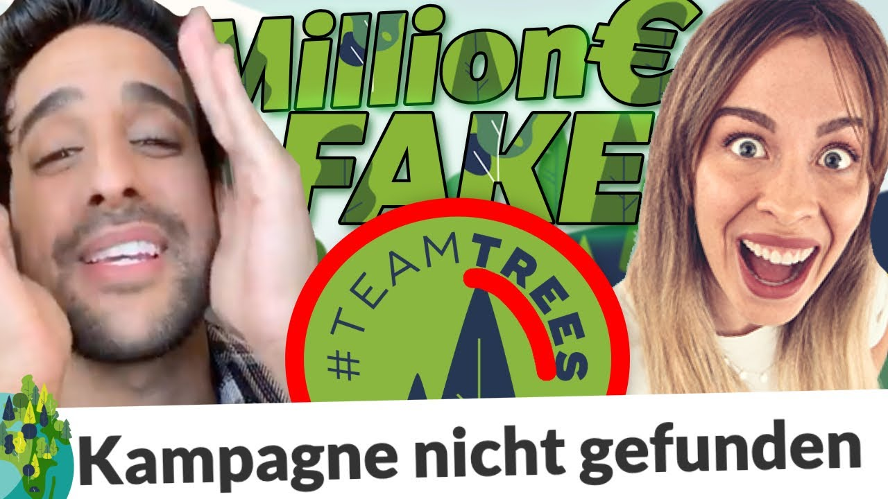 1 MILLION BÄUME - BETRUG? 💶 ≠🌲 Sami Slimani, Simon Desue & Kim Lianne verarscht! KLIMA FAKE!