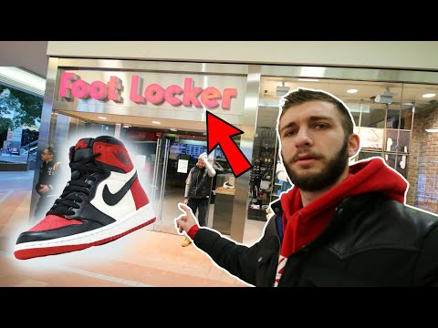 AIR JORDAN 1 BRED TO RELEASE GONE CRAZY! WHAT WENT DOWN