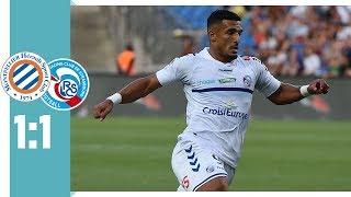 HSC Montpellier  - Straßburg 1:1 / Congré gleicht für Montpellier aus