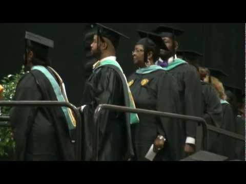 UNCG School od Education Graduation Ceremony May 2012 --  Ed. S. (Specialist in Education) ONLY