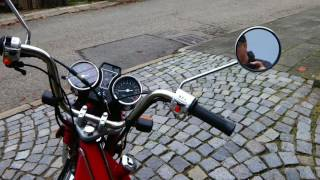 Jawa Betka 2016 jak nastartovat motorku
