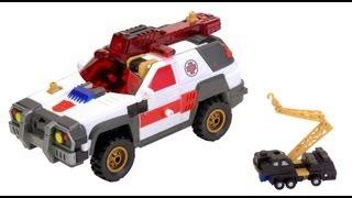 Red Alert w/ Longarm - Transformers Armada