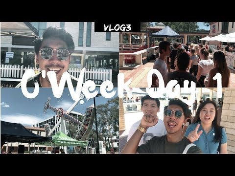1st DAY - UNIVERSITY OF CANBERRA ORIENTATION WEEK 2018 (O-Week) | VLOG #3