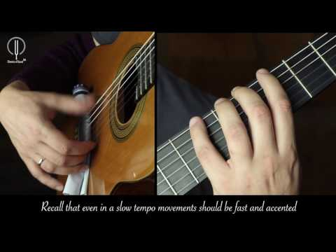 "Technique of the ""p"" finger under the classical right hand's position/ D.Nilov"