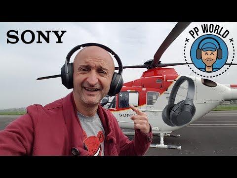 Test du Casque Antibruit Sony WH-1000XM2 en Hélicoptère !