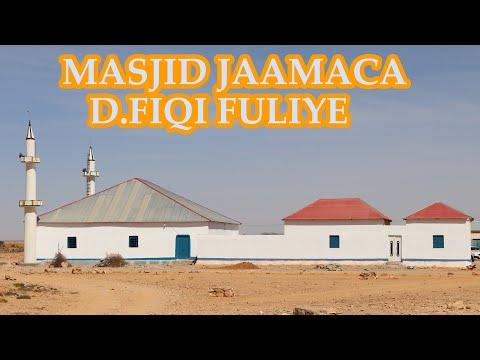 Barnaamijka Furitaanka Masjid Jaamac Degmada Fiqi Fuliye Ee G Sanaag
