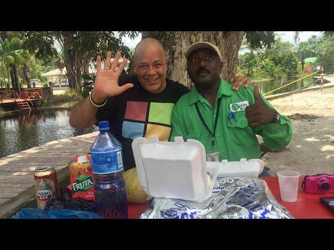Adventure in Suriname Episode 18 - Driving to Bersaba Republiek 4 Kinderen and Cola Kreek
