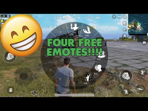 How To Get Free Emotes Pubg Mobile Update
