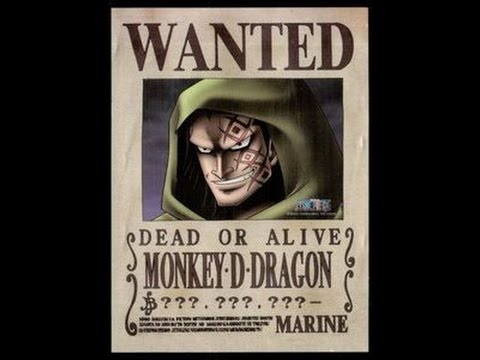 monkey d dragon highest bounty confirmed strongest