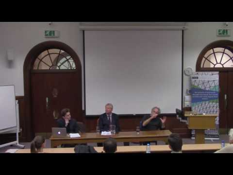 Is Economics Predictable? (Prof Tony Lawson & Dr. Jochen Runde)