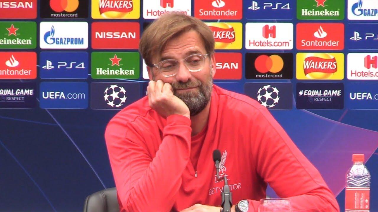 Jurgen Klopp Full Pre Match Press Conference Tottenham V Liverpool Champions League Final