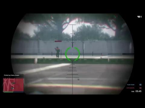 Heavy sniper training gta 5