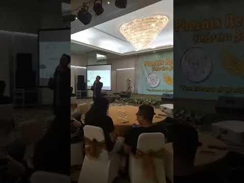 Regalcoin- Captain Rec LIVE Presentation In Bandung CONFERENCE