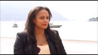 Isabel dos Santos talks about strategy for Sonangol and oil prices market | Interview CNBC