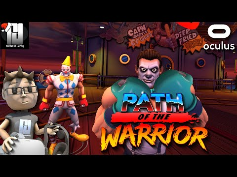 Path Of The Warrior Impressions! - A stunning looking VR Beat-em-up! // Oculus Quest