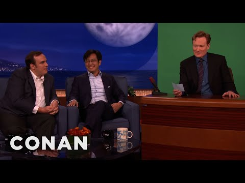 "Freddie Wong & Matt Arnold Shoot Conan's ""Video Game High School"" Cameo"