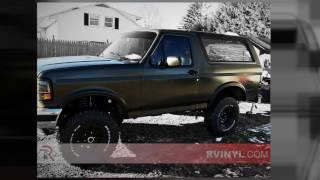 Rtint® 1990 1996 Ford Bronco Window Tint Kit