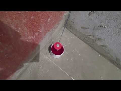 Провешивание стен видеоурок