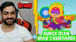 SURGE COMES TO SAVE THE Dying MAX - The Most Beautiful Brawl Stars Stories