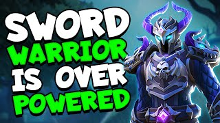 Is Sword-Warrior TOO STRONG Realm Royale Solo Gameplay