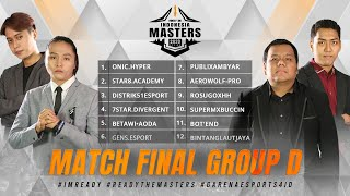 [2020] Free Fire Indonesia Masters 2020 Spring | Final Group D