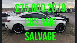 Download Salvage yard c63 amg x5m focus Rs walk around Mp3 and Videos