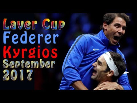 🎾 Federer vs Kyrgios - Laver Cup - September 24, 2017 - Highlights 🎾