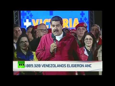 Nicolás Maduro se pronuncia tras los resultados de la Constituyente