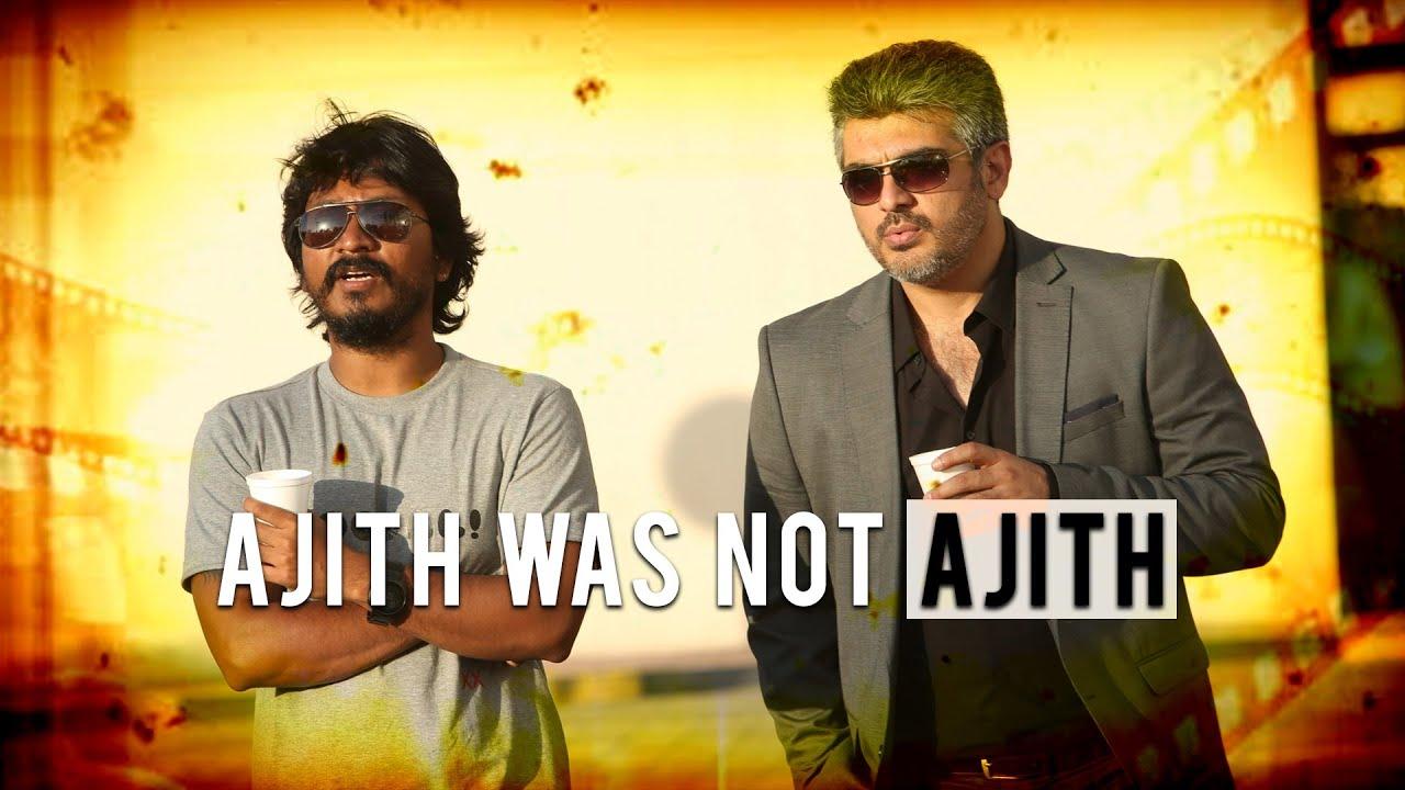"""AJITH was not AJITH in Arrambam!"" - Vishnuvardhan - BOFTA ..."