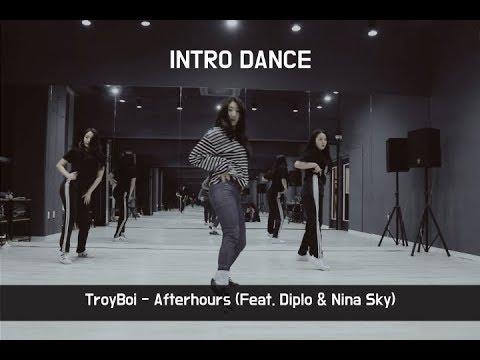 Afterhours (Feat. Diplo & Nina Sky) - TroyBoi | Girls HipHop  | INTRO DANCE MUSIC STUDIO