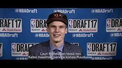 Ruutu: NBA ja Lauri Markkanen Ruudussa