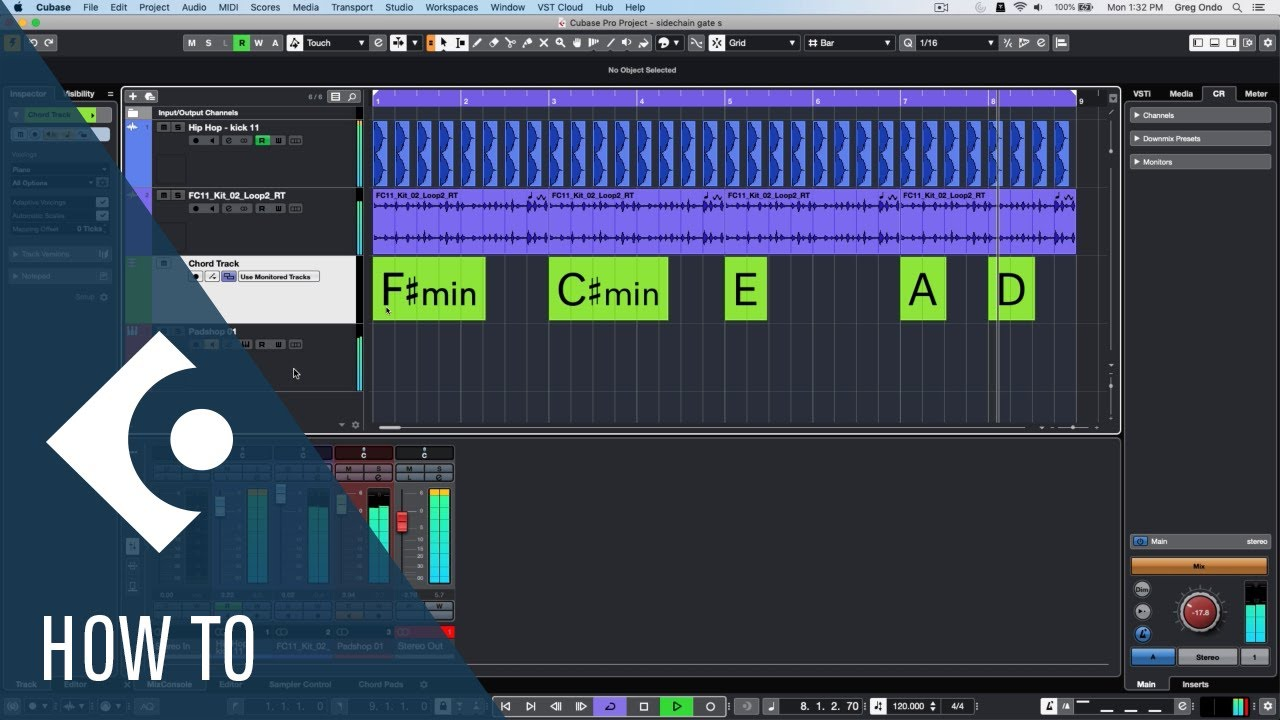 Download Using Side Chain Gate to Tighten up Your Track | Cubase Q&A with Greg Ondo