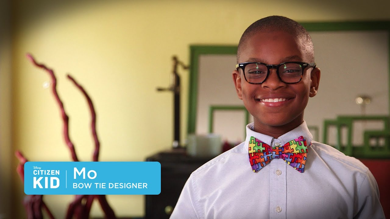 Mo bow tie designer citizen kid by disney youtube ccuart Image collections