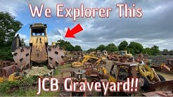 We Explore This Huge JCB Graveyard!