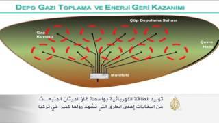 توليد الكهرباء بواسطة غاز الميثان في تركيا