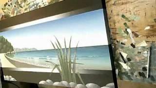 Time Lapse Acrylic Painting - Seascape Art
