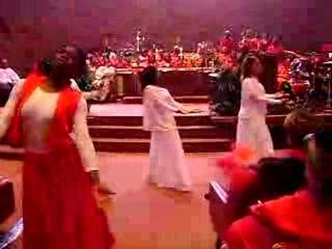 a.m.e.z. church praise dance