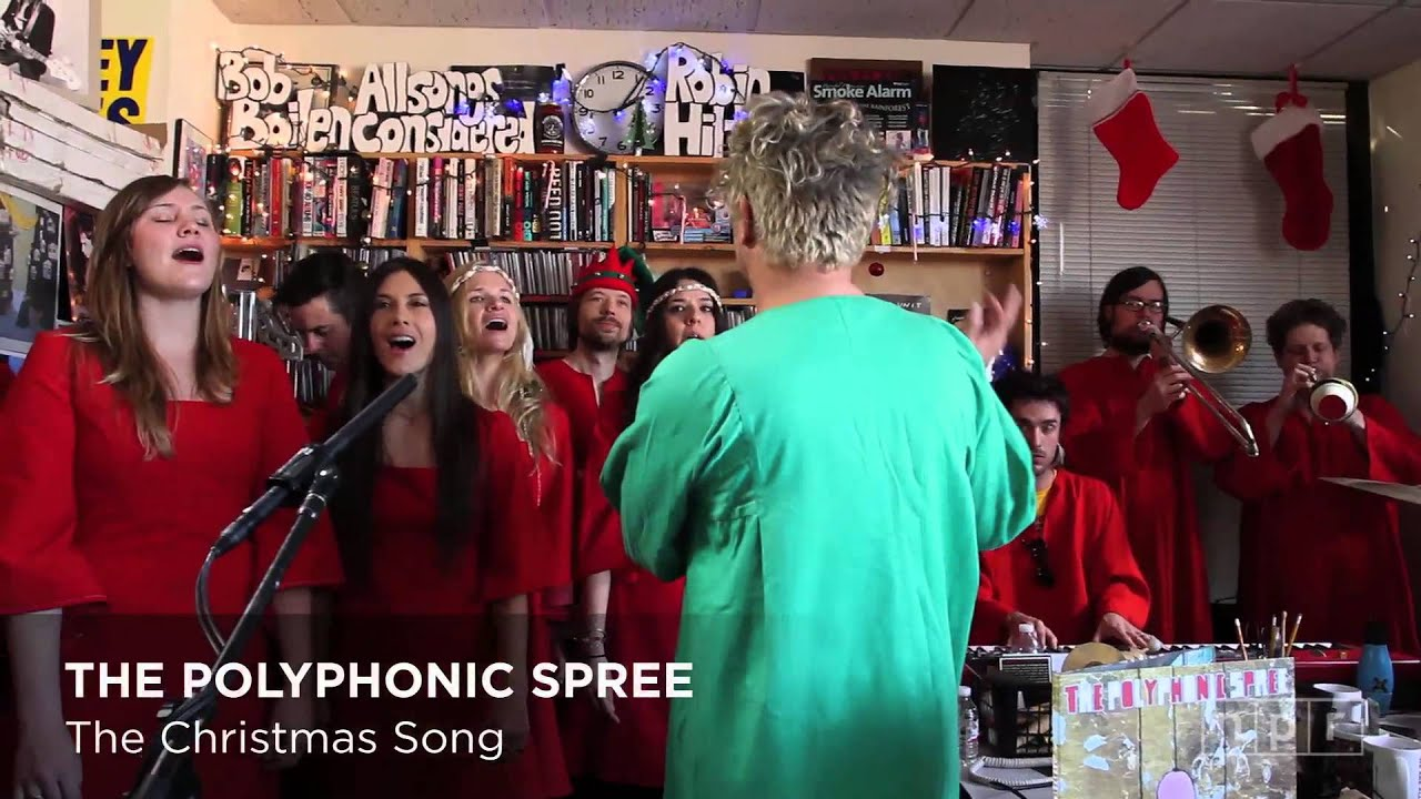 The Polyphonic Spree: NPR Music Tiny Desk Concert - YouTube