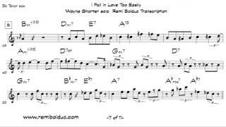 Wayne Shorter on I Fall In Love Too Easily